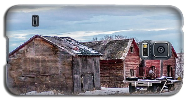 A Sign Of The Times, Run Diown Farm Out Buildings And Barns, Alb Galaxy S5 Case