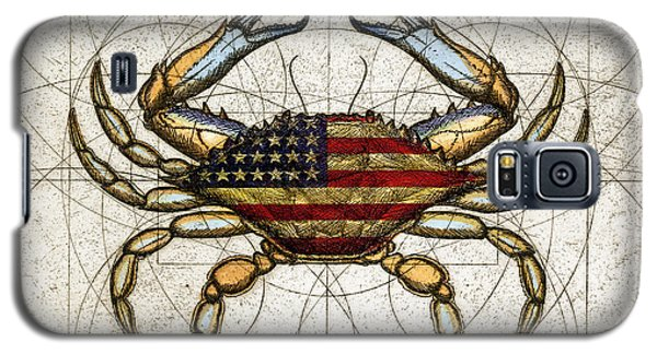 4th Of July Crab Galaxy S5 Case