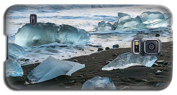 The Diamond Beach, Jokulsarlon, Iceland Galaxy S5 Case