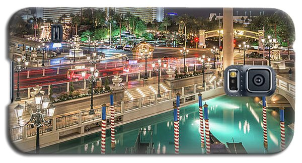 View Of The Venetian Hotel Resort And Casino Galaxy S5 Case