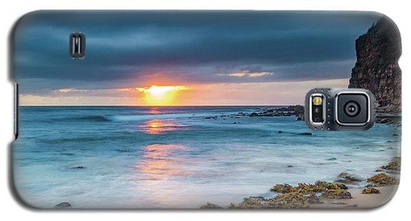 Sunrise Seascape And Cloudy Sky Galaxy S5 Case