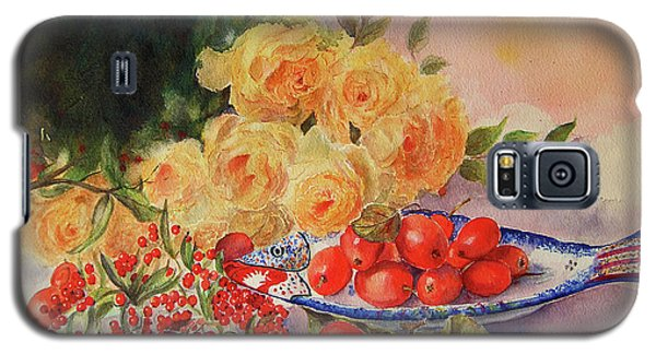 A Berry Or Two, Watercolour Still Life Galaxy S5 Case