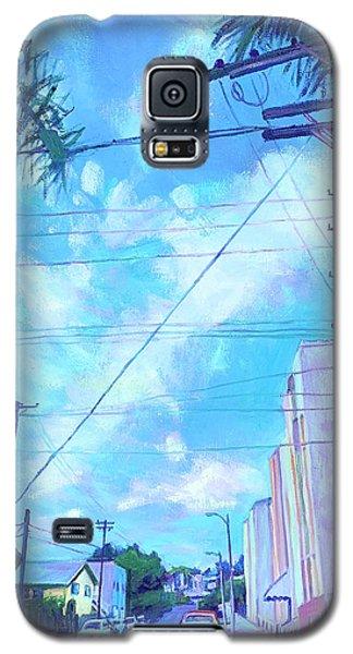 A Blue Day Galaxy S5 Case
