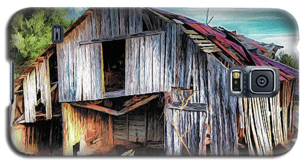 A Classic Vintage Barn In The Blue Ridge Ap Galaxy S5 Case