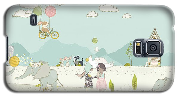 A Day At The Park Galaxy S5 Case
