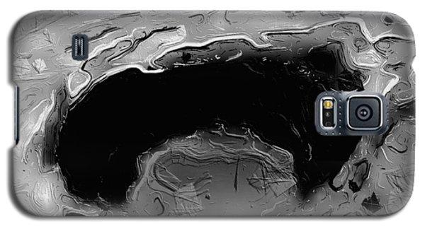 A Lifeless Planet Black Galaxy S5 Case