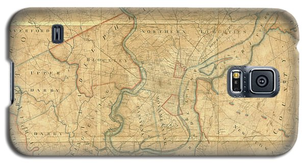 A Plan Of The City Of Philadelphia And Environs, 1808-1811 Galaxy S5 Case