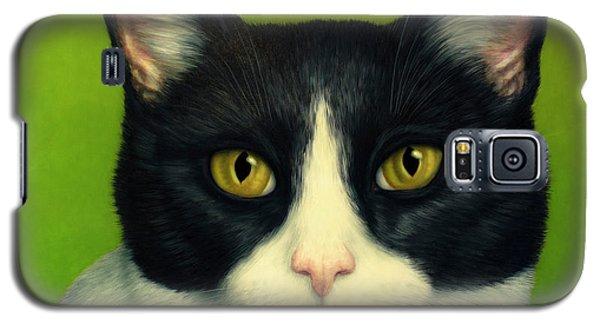 A Serious Cat Galaxy S5 Case