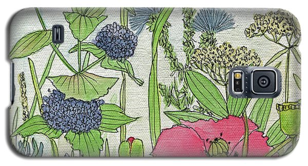 A Single Poppy Wildflowers Garden Flowers Galaxy S5 Case