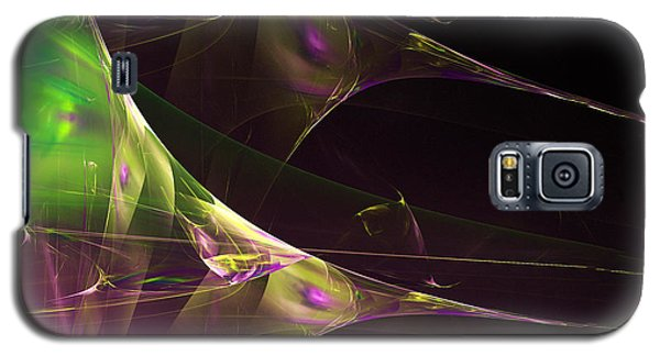 A Space Aurora Galaxy S5 Case