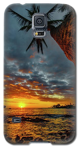 A Typical Wednesday Sunset Galaxy S5 Case