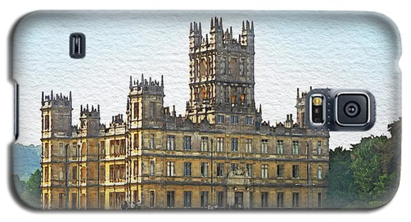 A View Of Highclere Castle 1 Galaxy S5 Case