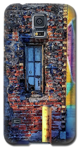A Window Set In Bricks Galaxy S5 Case