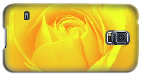 A Yellow Rose For Joy And Happiness Galaxy S5 Case
