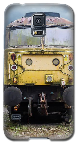 Abandoned Yellow Train Galaxy S5 Case
