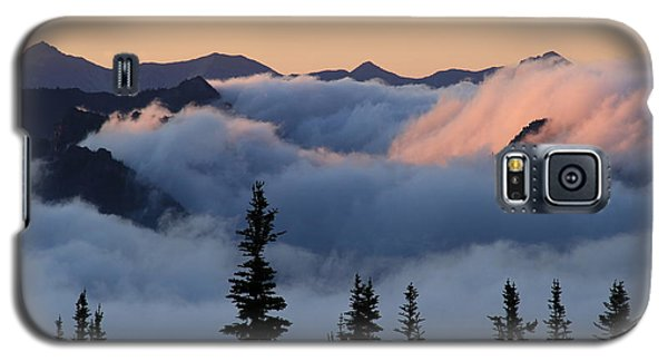 Above The Clouds Sunrise Galaxy S5 Case