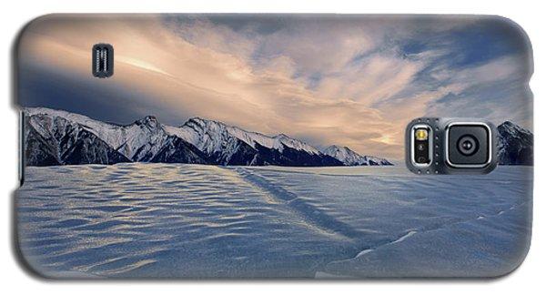 Abraham Lake Ice Wall Galaxy S5 Case