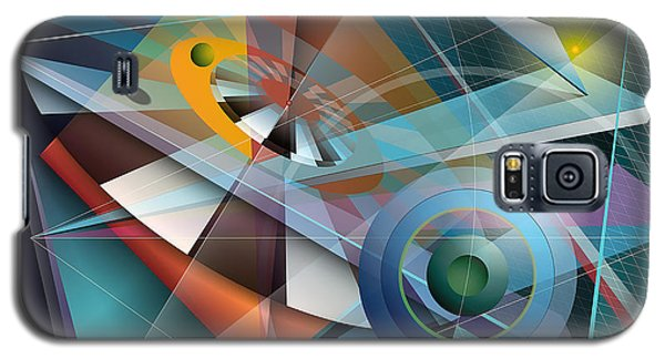 Abstract 4 Galaxy S5 Case