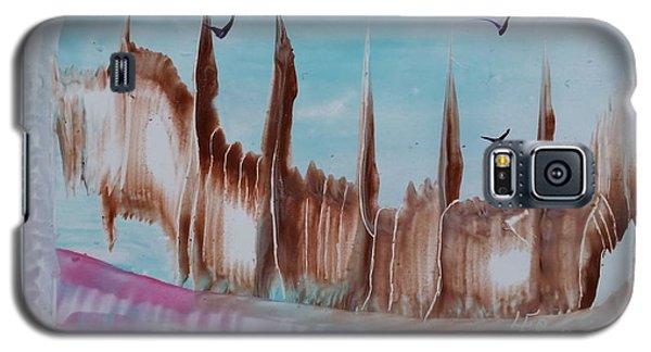 Abstract Castles Galaxy S5 Case