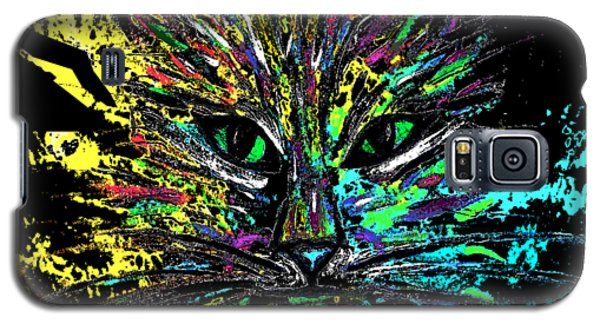 Abstract Cat  Galaxy S5 Case