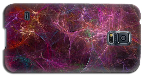 Abstract Colorful Fireworks Galaxy S5 Case