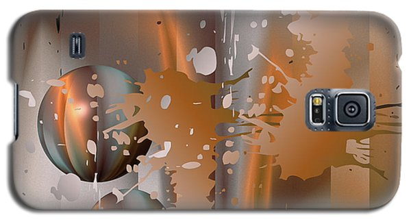 Abstract Copper Galaxy S5 Case
