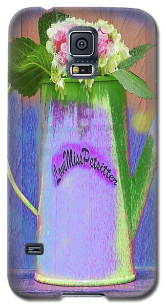 Abstract Floral Art 343 Galaxy S5 Case