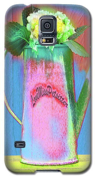 Abstract Floral Art 377 Galaxy S5 Case