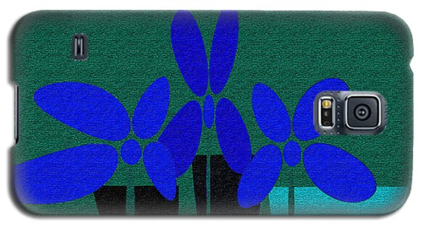 Abstract Floral Art 392 Galaxy S5 Case