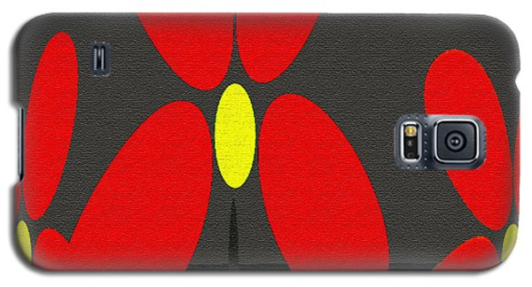 Abstract Floral Art 393 Galaxy S5 Case