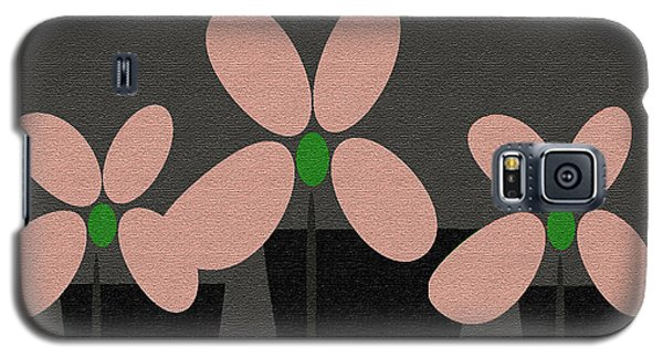 Abstract Floral Art 394 Galaxy S5 Case