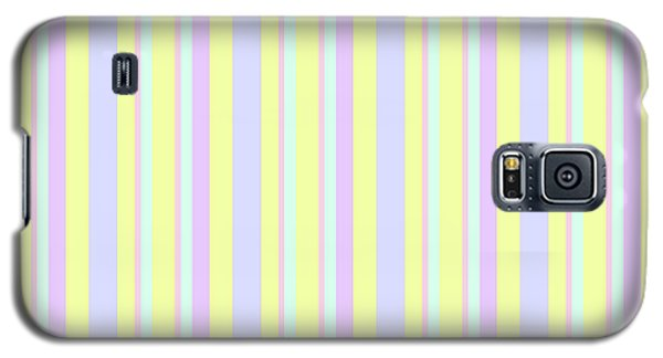 Abstract Fresh Color Lines Background - Dde595 Galaxy S5 Case