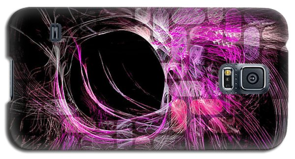 Abstract Heaven Magenta Galaxy S5 Case