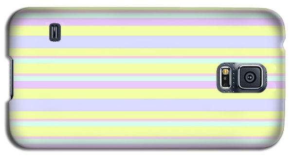 Abstract Horizontal Fresh Lines Background - Dde596 Galaxy S5 Case