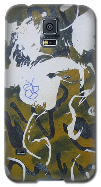 Abstract Human Figure Galaxy S5 Case