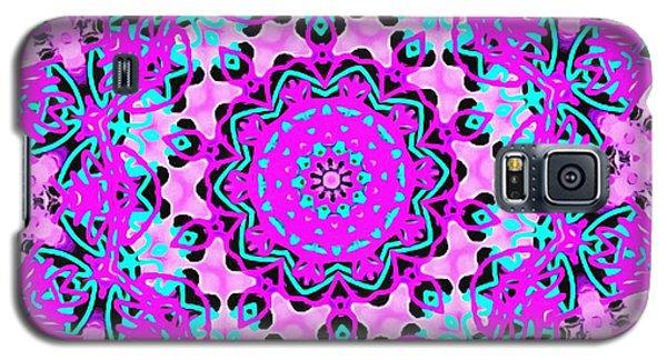 Abstract Spun Flower Galaxy S5 Case