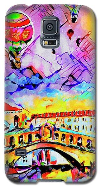 Abstract Venice Rialto Bridge Balloons Galaxy S5 Case