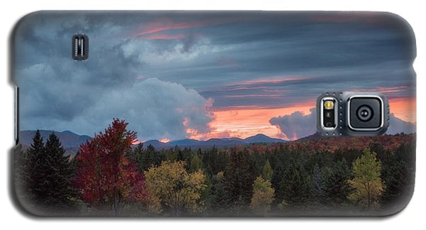 Adirondack Loj Road Sunset Galaxy S5 Case