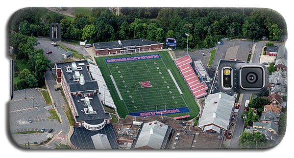 Aerial Of Mhs Football Field And School Galaxy S5 Case