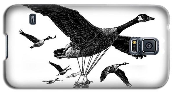 Aero Canada - Bw Galaxy S5 Case