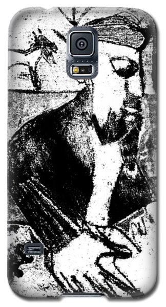 After Childish Edgeworth Black And White Print 26 Galaxy S5 Case