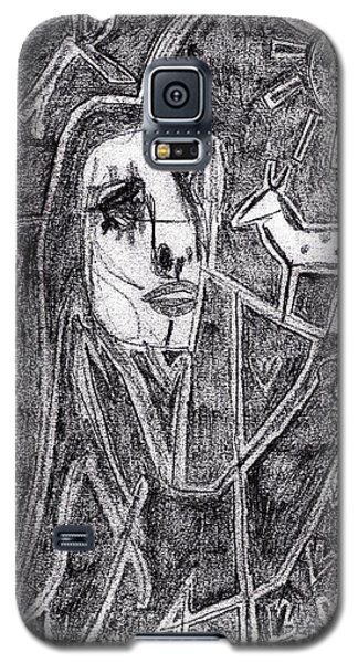 After Childish Edgeworth Pencil Drawing 10 Galaxy S5 Case