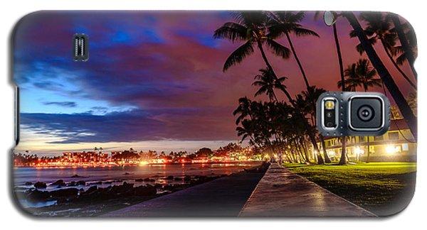 After Sunset At Kona Inn Galaxy S5 Case