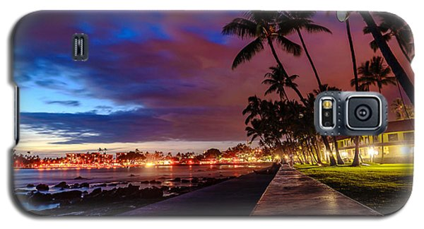 After Sunset At Kona Inn Galaxy S5 Case