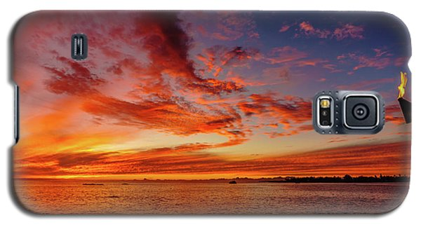 After Sunset Colors At Kailua Bay Galaxy S5 Case