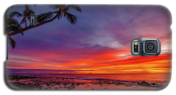 After Sunset Vibrance Galaxy S5 Case