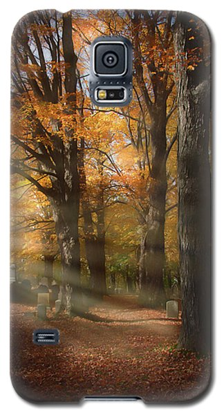 Afternoon Light In Fall Colors Of New England Galaxy S5 Case