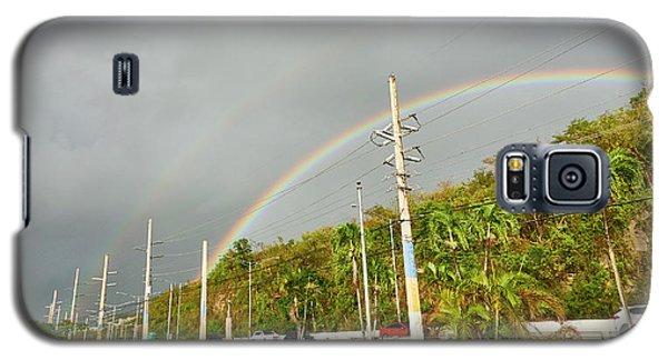 Aguadilla Rainbow Galaxy S5 Case