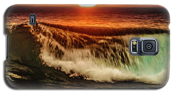 Ahh.. The Sunset Wave Galaxy S5 Case
