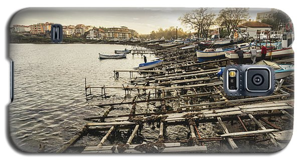 Ahtopol Fishing Town Galaxy S5 Case